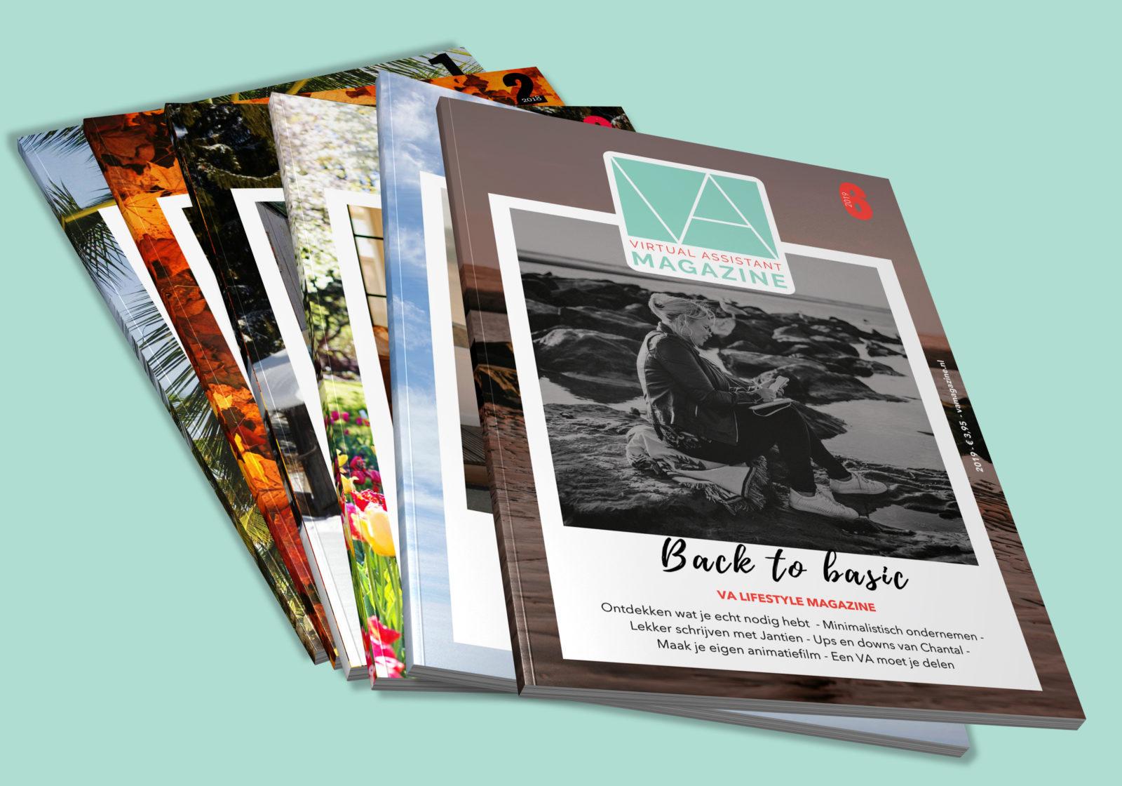 Virtual assistant magazine