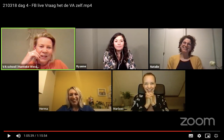 Virtual assistants aan het woord