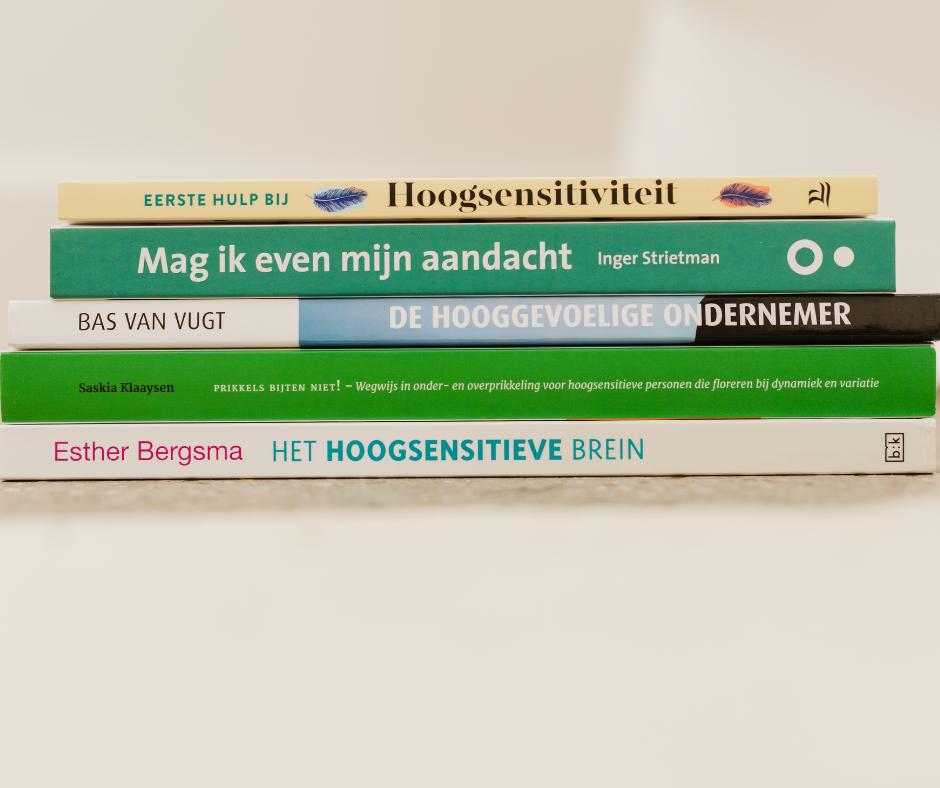 HSP boeken van Hanneke