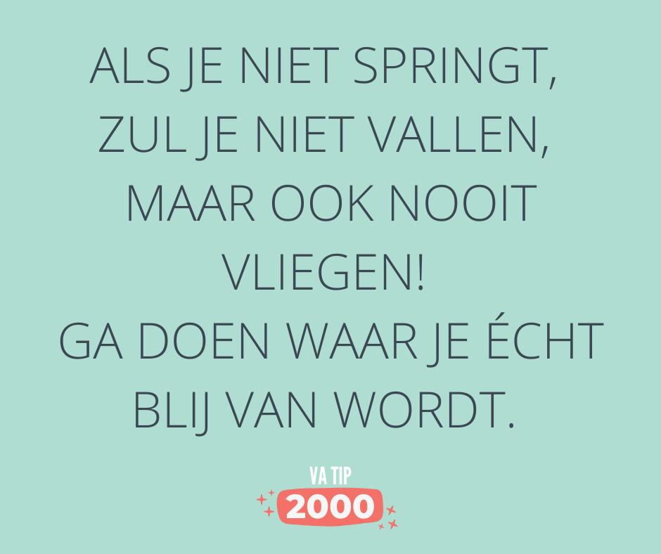 VA tip 2000 Tip van Paulien Geels